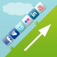 Sociale medier knapper